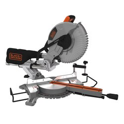 Black and Decker - 2100W 254mm Single Bevel Slide Mitre Saw - BES710
