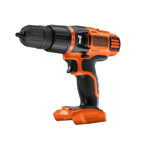 Black and Decker - 18V Lithiumion Cordless Hammer Drill without battery and charger - BDCH188N